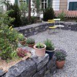 Badergartenpflege Trockenmauer Hochbeet